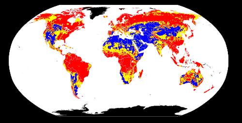 Soil pH around the globe